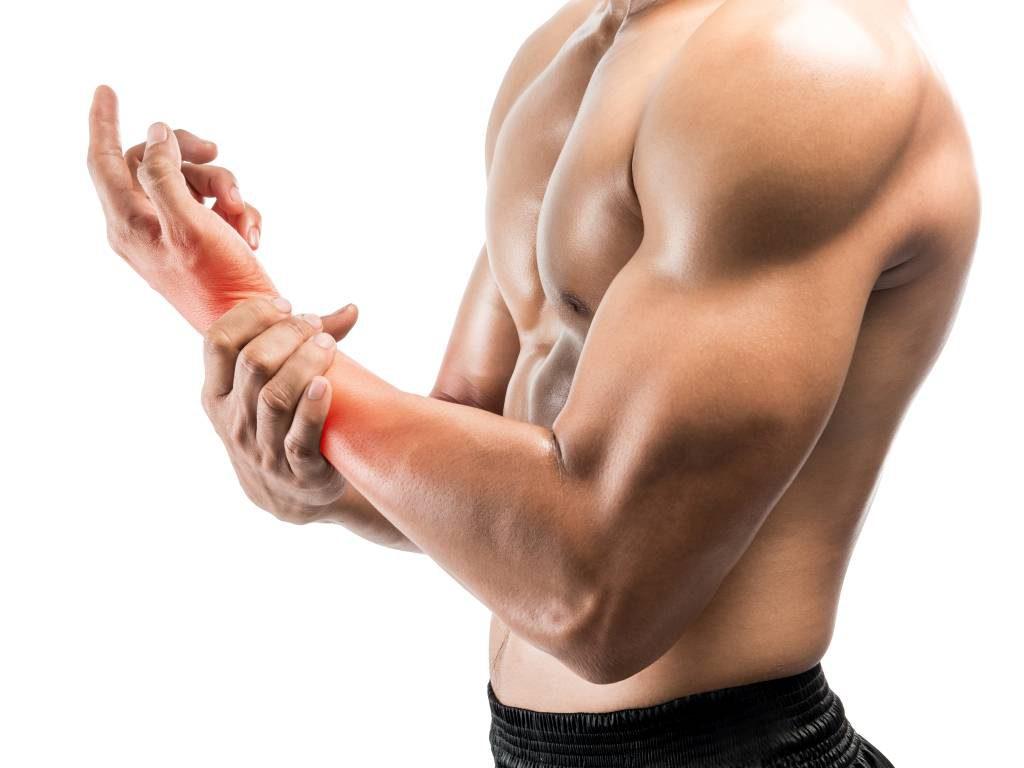 Tập Fitness để tăng cơ bắp.