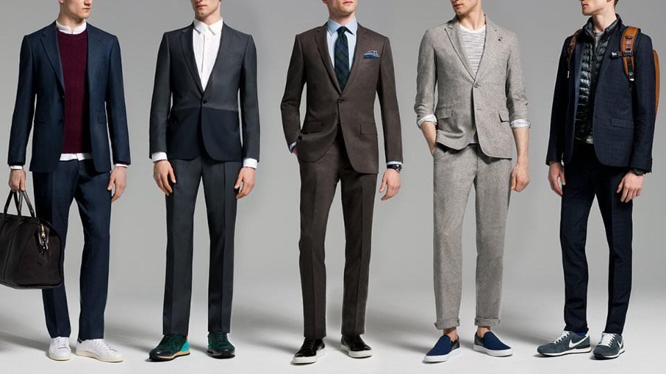 Nên chọn giày phù hợp với trang phục.