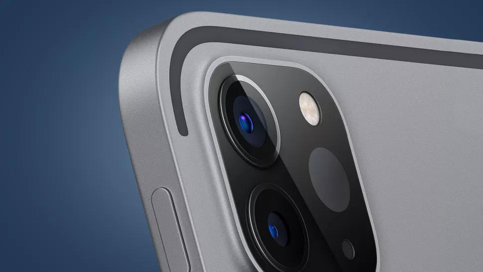 Cảm biến LiDAR trên iPad Pro 2020. Ảnh: Apple.