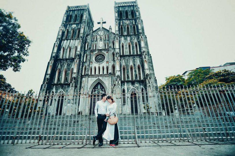 Nhà thờ lớn Hà Nội- nơi hẹn hò lí tưởng