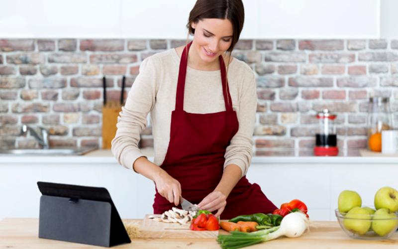 Phụ nữ thời hiện đại xem việc vào bếp như một niềm vui.