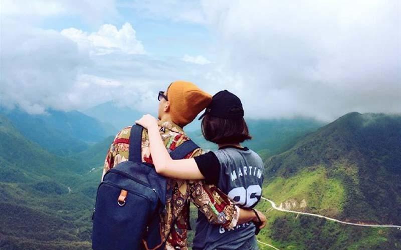 Phượt cùng người yêu để tạo nên khoảnh khắc tuyệt vời.