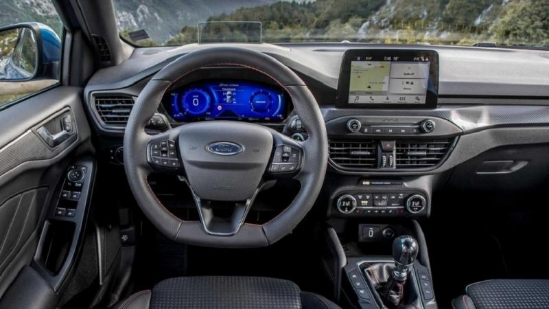 Mẫu xe Ford Focus Hybrid 2021 động cơ đổi mới