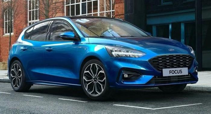 Mẫu xe Ford Focus Hybrid 2021 thiết kế sang trọng
