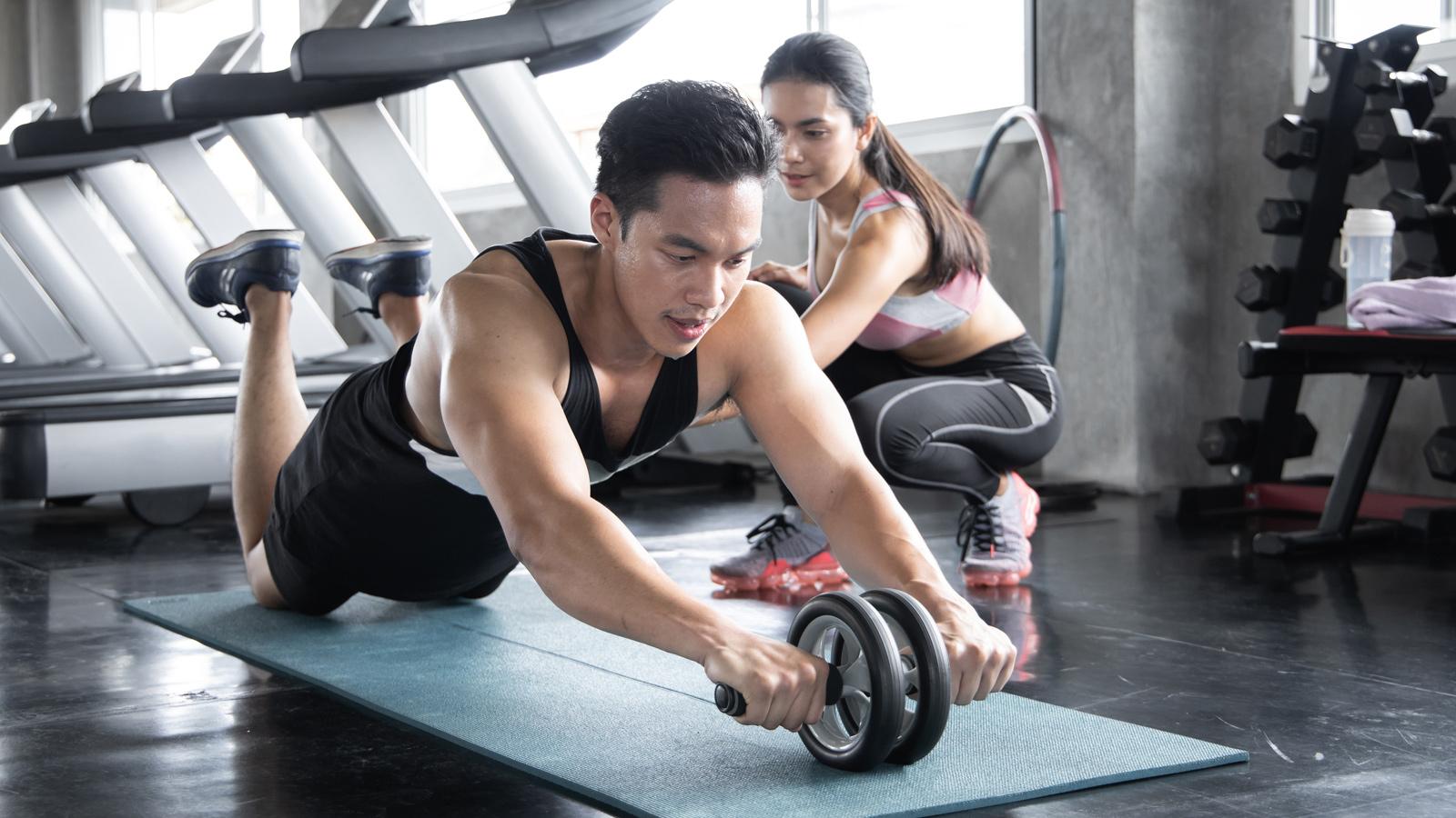 Cardio training- bài tập Fitness cho nam.