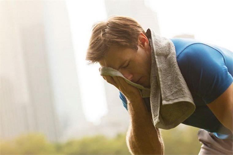 Tránh để bị sốc nhiệt khi tập thể thao