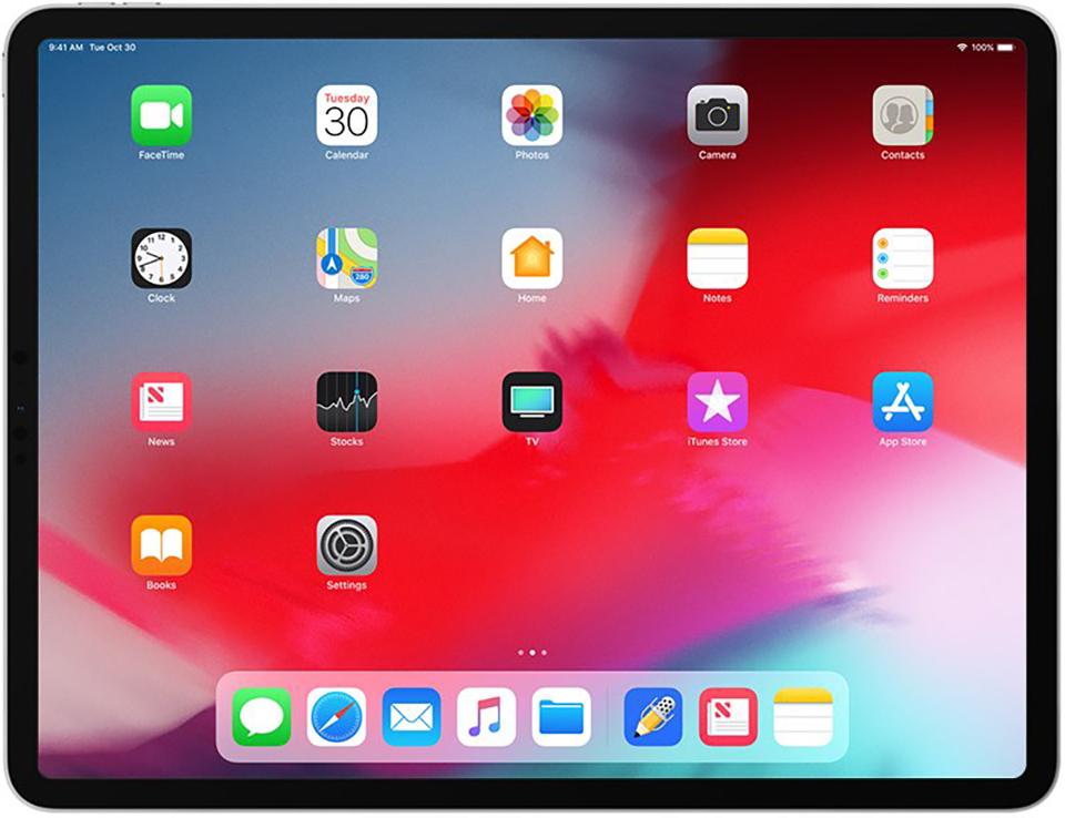 Nâng cấp tính năng cho Ipad- màn hình rộng hơn.