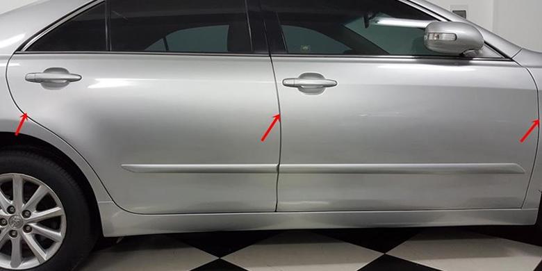 Kiểm tra xe ô tô cũ- phía bên ngoài