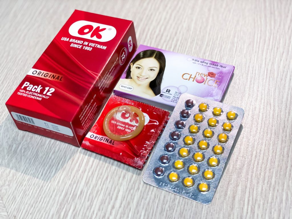 Lần đầu quan hệ với nàng bạn nên sử dụng các biện pháp tránh thai để bảo vệ sức khỏe cho cả hai