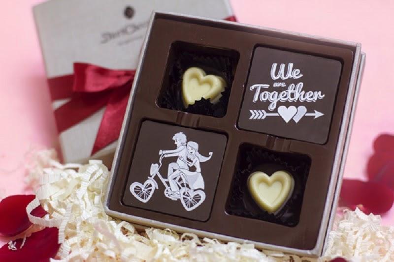 Socola - món quà ngọt ngào cho tình yêu.