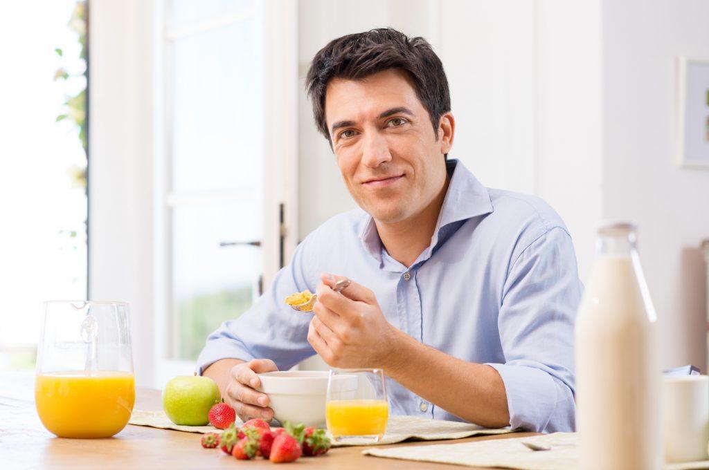 Cần có chế độ ăn uống phù hợp khi bị liệt dương