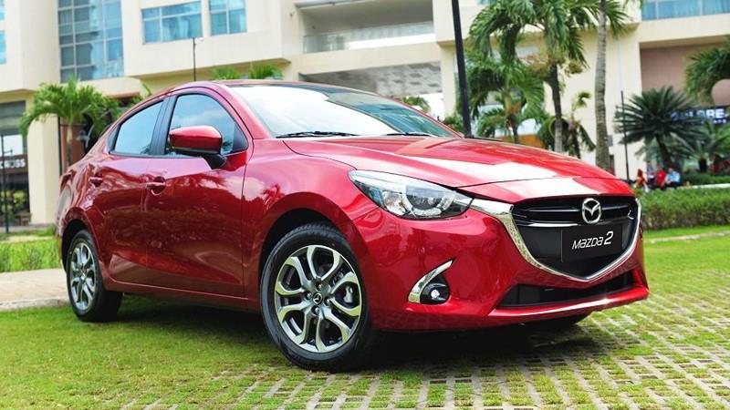 Mẫu xe Mazda2 Luxury tiện nghi