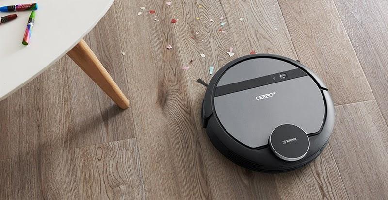 Robot hút bụi, lau nhà có khả năng thay đổi cách thức lau dọn trên những chất liệu bề mặt khác nhau.
