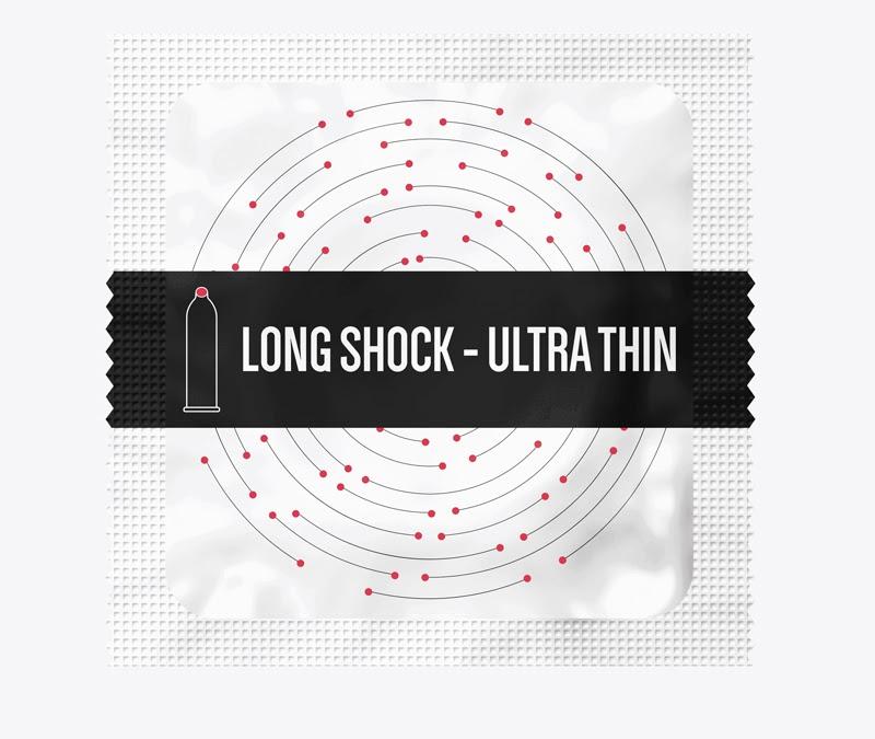 Fiesta® Long Shock - Ultra Thin kéo dài thời gian quan hệ
