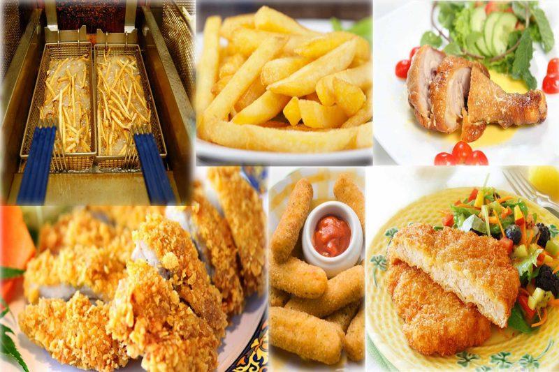 Nên kiêng thức ăn nhanh và có nhiều chất béo