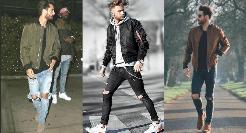 Quần jeans kết hợp cùng áo khoác Denim mang đến phong cách bụi bặm, cuốn hút.
