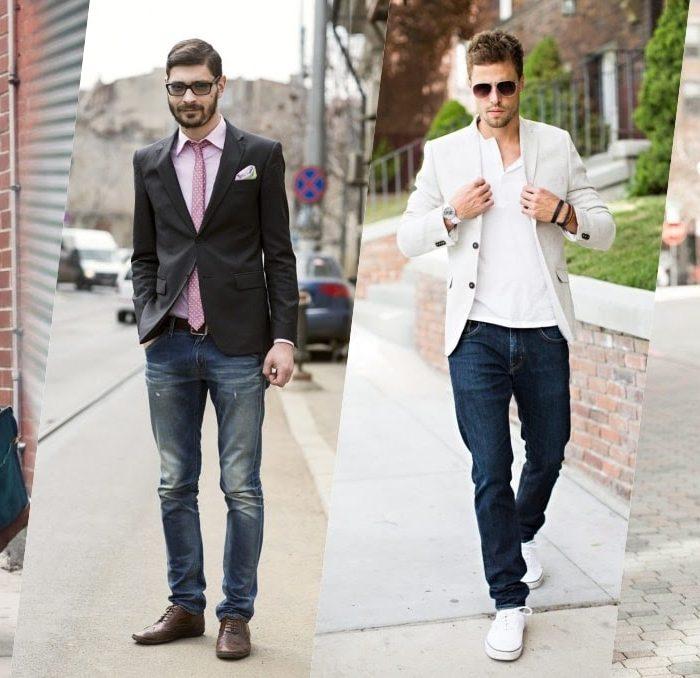 Bí quyết phối đồ với quần jeans giúp chàng ghi điểm tuyệt đối