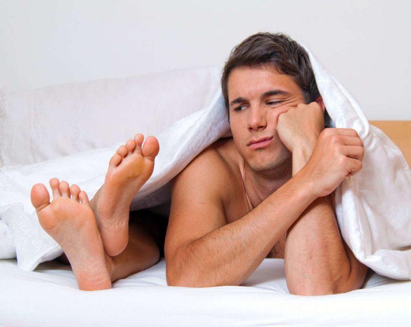 Chất lượng đời sống tình dục kém gây rối loạn cương dương, xuất tinh sớm, giảm tỷ lệ đậu thai,....