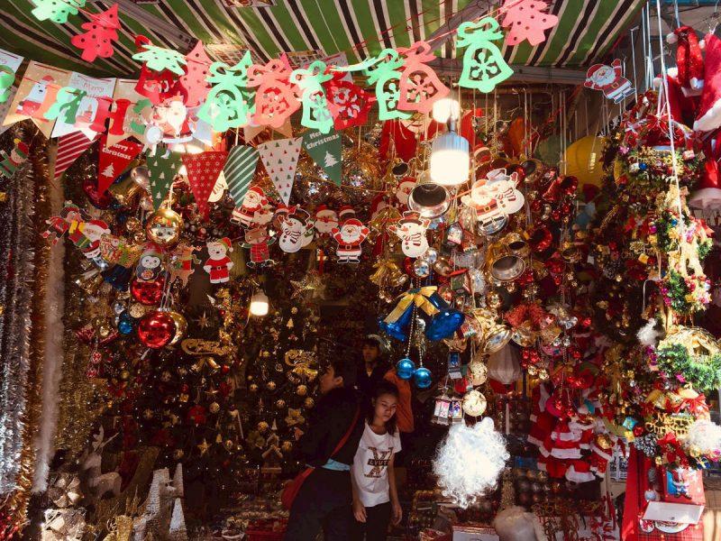 Phố Hàng Mã mùa Noel