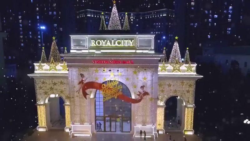 Khung cảnh Royal City vào mùa Noel