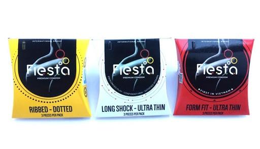 Fiesta có nhiều phiên bản, mùi vị ấn tượng