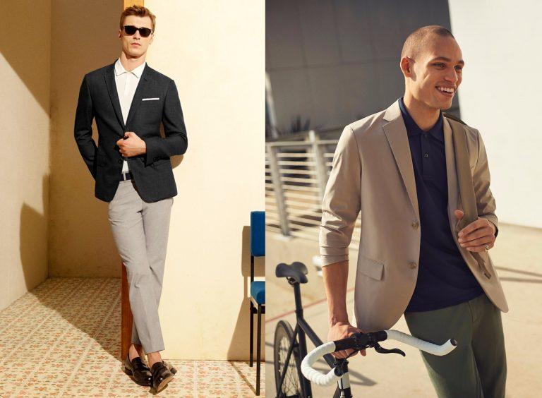 Sport jacket/blazer giúp tôn dáng và sự lịch lãm của một người đàn ông.