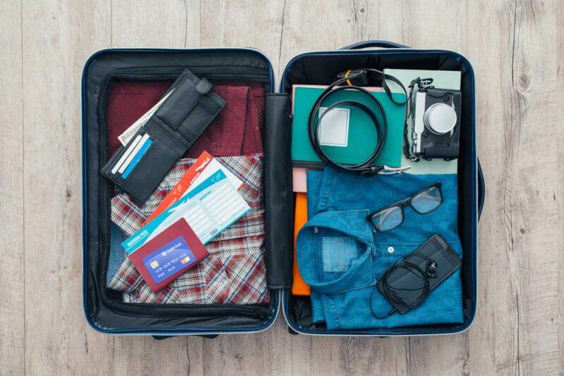 Lời khuyên khi chuẩn bị đồ du lịch - Kiểm soát được số lượng hành lí