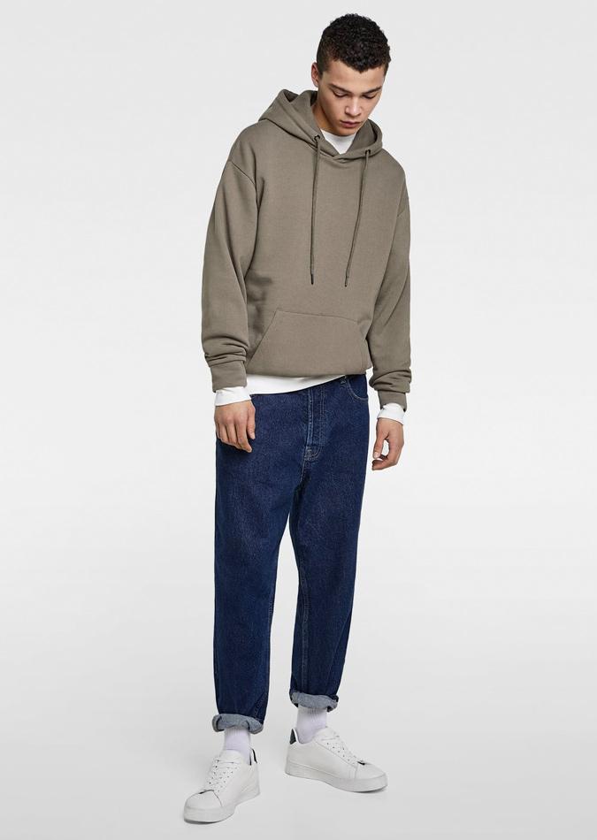 Cách phối quần jeans nam theo các phong cách - Loose-fit Jeans