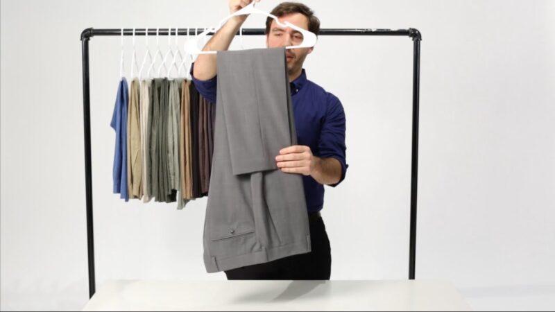 Cách gấp các loại quần dài