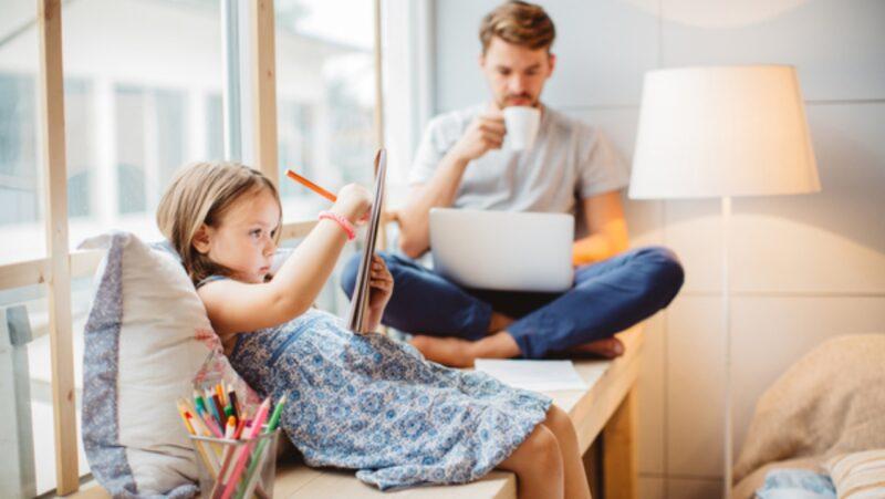 Cân bằng công việc và gia đình bằng cách linh hoạt và tử tế với bản thân