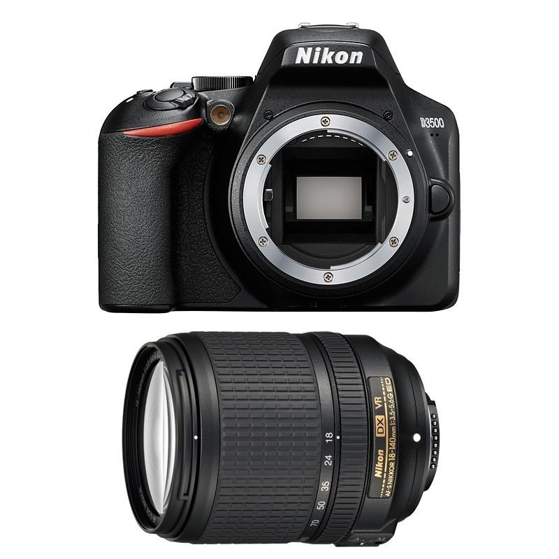Hướng dẫn chọn ống kính máy ảnh Nikon D3500 kèm lens kits 18-140mm.