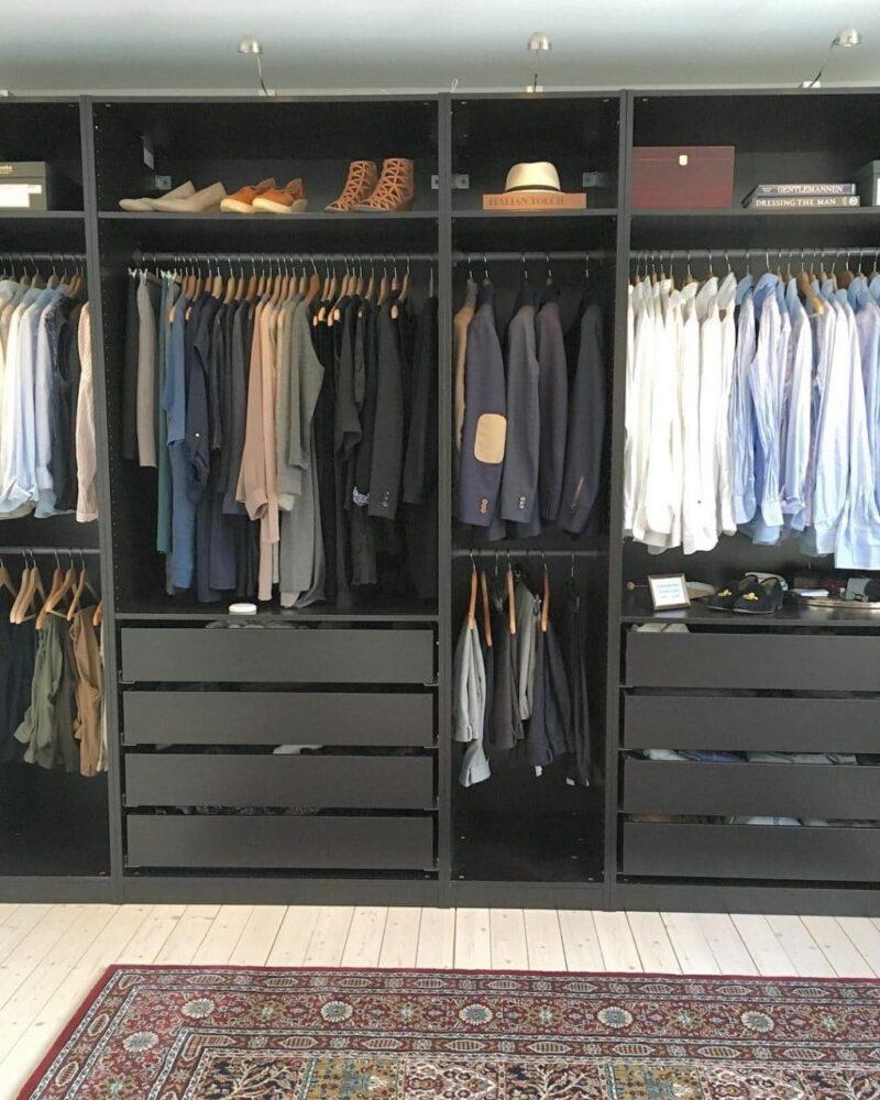 Sắp xếp, phân loại lại quần áo