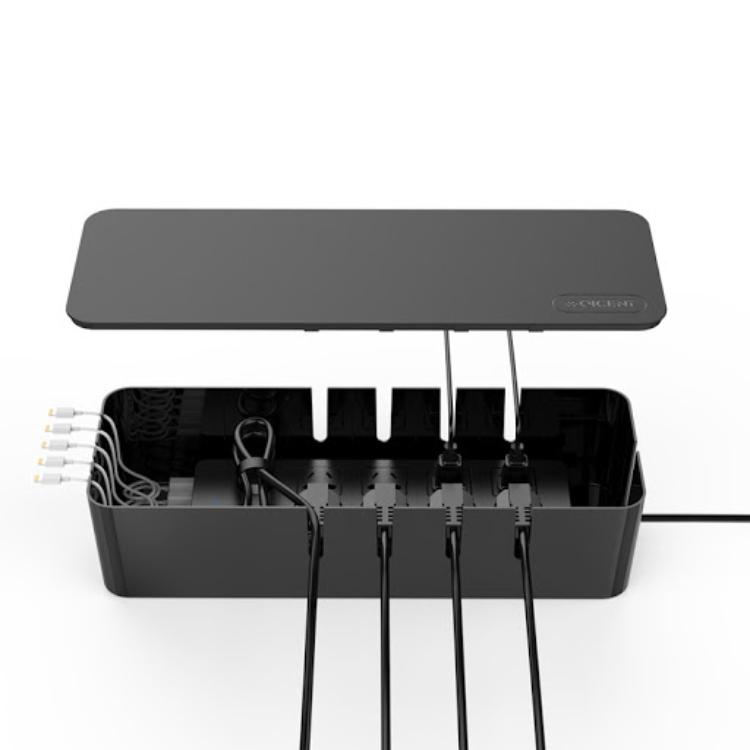 Mẹo quản lý dây điện - Che đi ổ điện và phích cắm