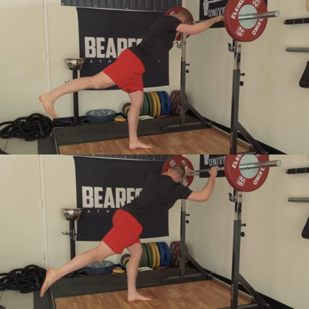 Những bài bổ trợ tập squat - Hip Mobility
