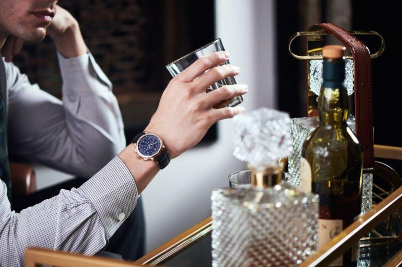 Ly rượu đóng vai trò quan trọng trong một không gian home bar. Ảnh: Hongkong Tatler