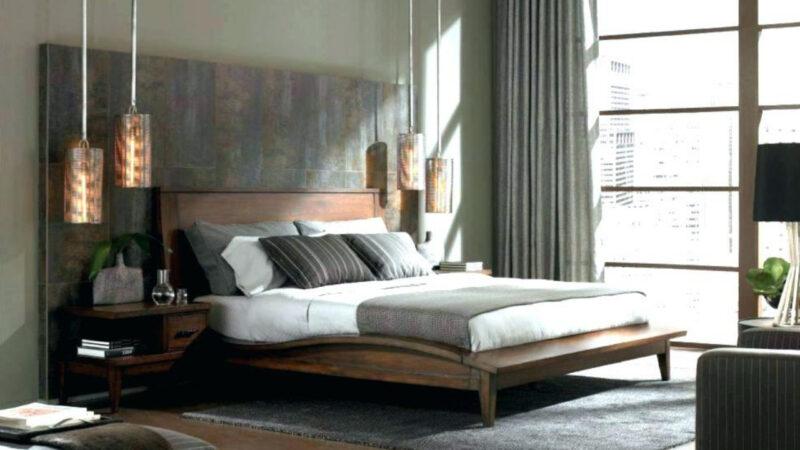 Phòng ngủ không thể sơ sài tạo một không gian sống nam tính