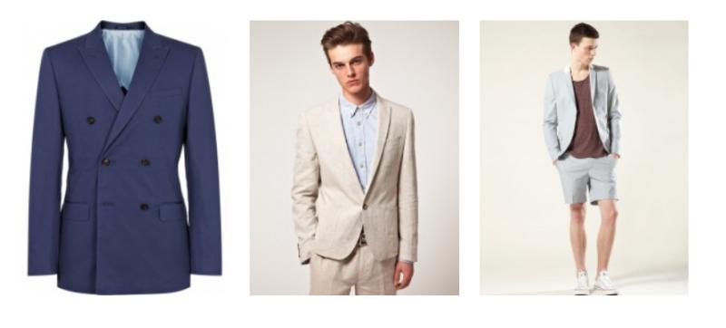 Chắc chắn rồi, những bộ suit chất liệu mỏng nhẹ luôn là sự lựa chọn cho mùa Hè.