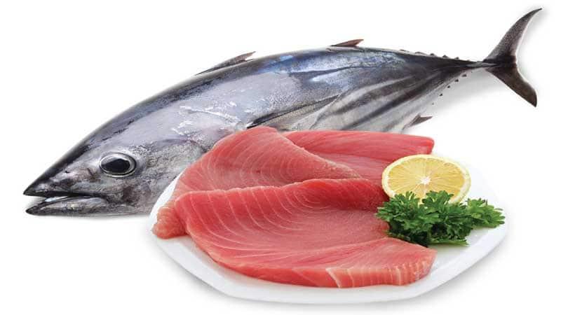 Thực phẩm giàu testosterone: Cá ngừ