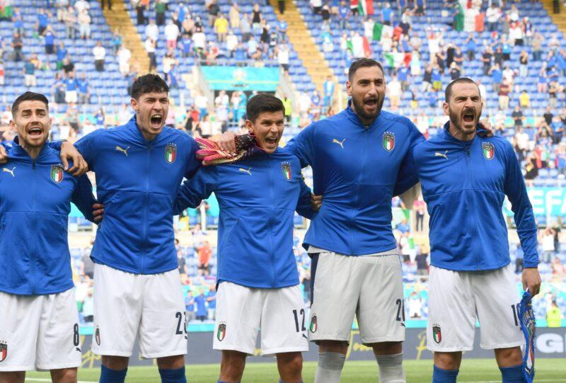 Italya là 1 trong 12 đội tuyển chắc suất