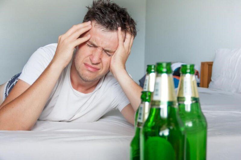 Tác hại của rượu bia đối với nam giới