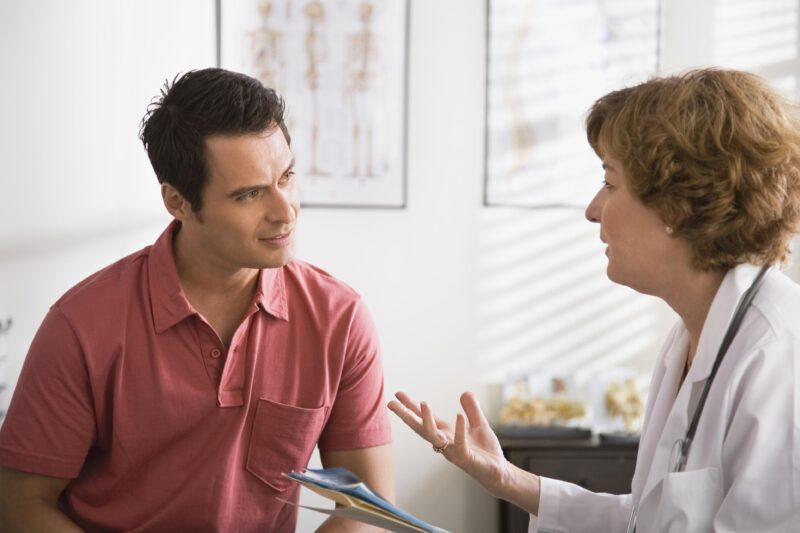 Hãy thực hiện theo đúng hướng dẫn của bác sĩ đưa ra, bạn sẽ sớm hồi phục.
