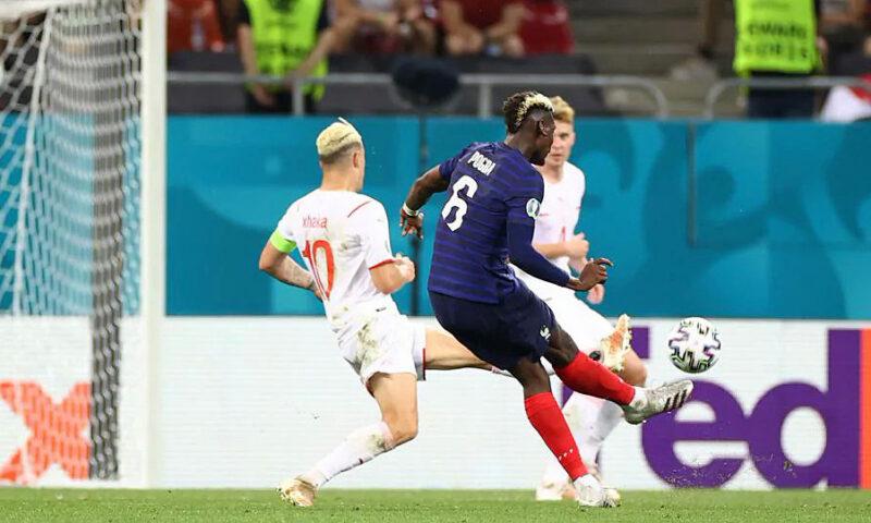 Những pha ghi bàn nổi bật tạo nên kết quả của Thụy Điển và Pháp