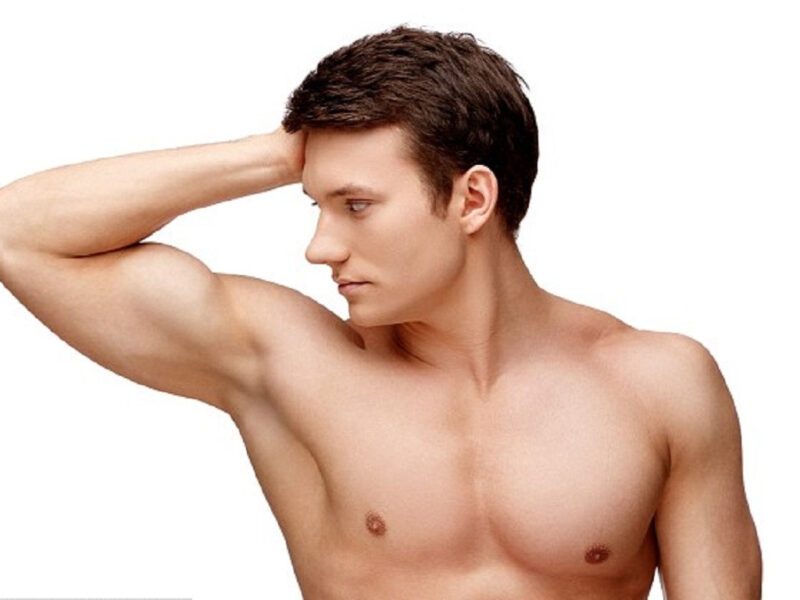"""lông nách đã không còn là """"mốt"""" với cánh đàn ông"""